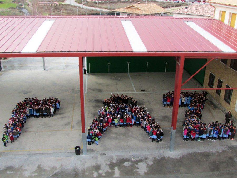 Día de la Paz. Colegio Mater Dei