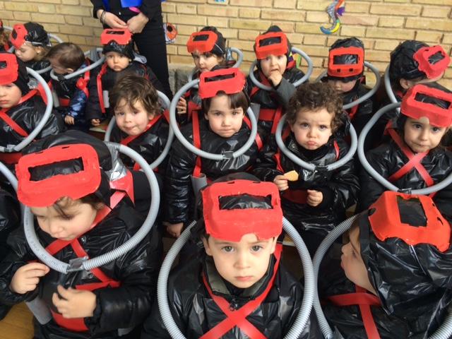 """Mater Dei celebra su fiesta del carnaval con la temática """"Bajo el mar"""""""