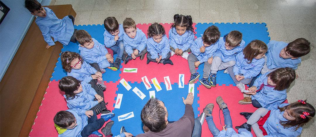 De 3 a 6 años, segundo ciclo de Educación Infantil. Colegio Mater Dei. Ayegui - Estella