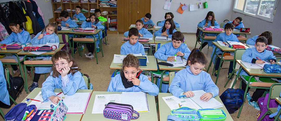 De 6 a 12 años, Primer ciclo de Educación Primaria. Colegio Mater Dei. Ayegui - Estella