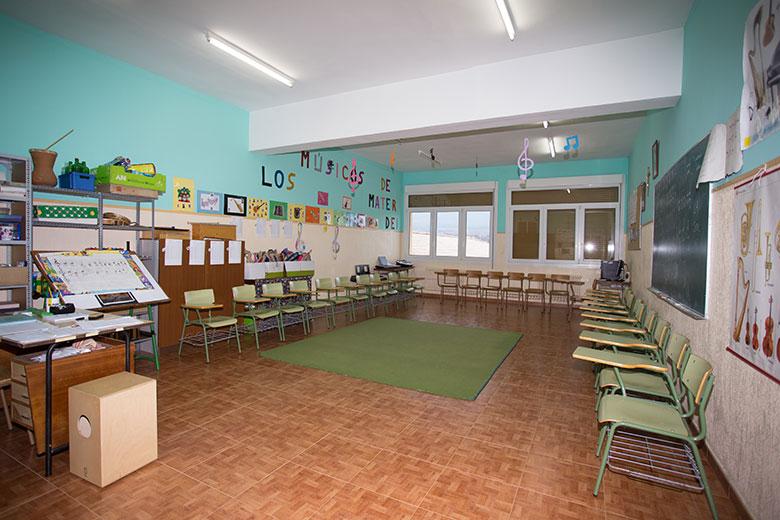 Instalaciones - Aula de música. Colegio Mater Dei, Ayegui - Estella