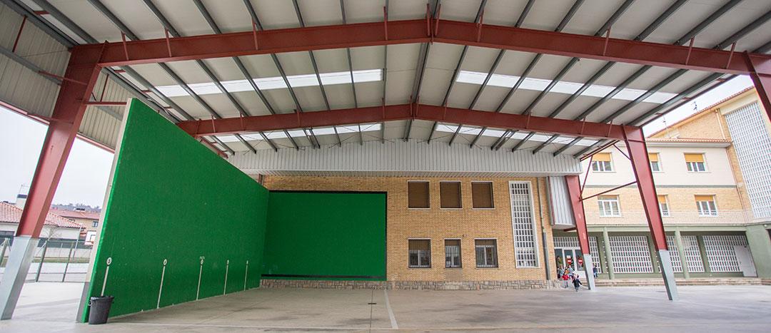 Instalaciones colegio Mater Dei, Ayegui - Estella