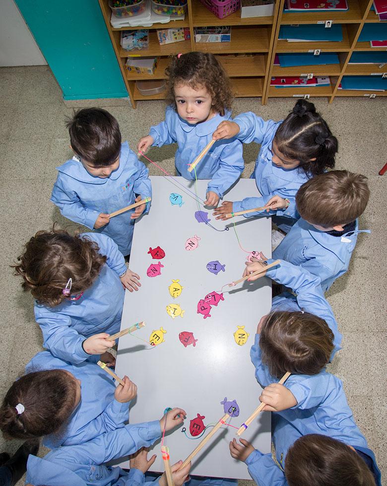 Proyecto educativo de 3 a 6 años. Colegio Mater Dei, Ayegui - Estella
