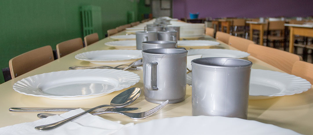 Servicio comedor. Colegio Mater Dei, Ayegui - Estella