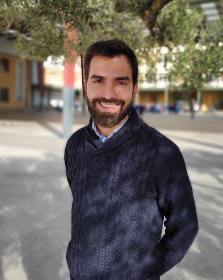 Andrés García. Diretor Académico colegio Mater Dei, Ayegui - Estella