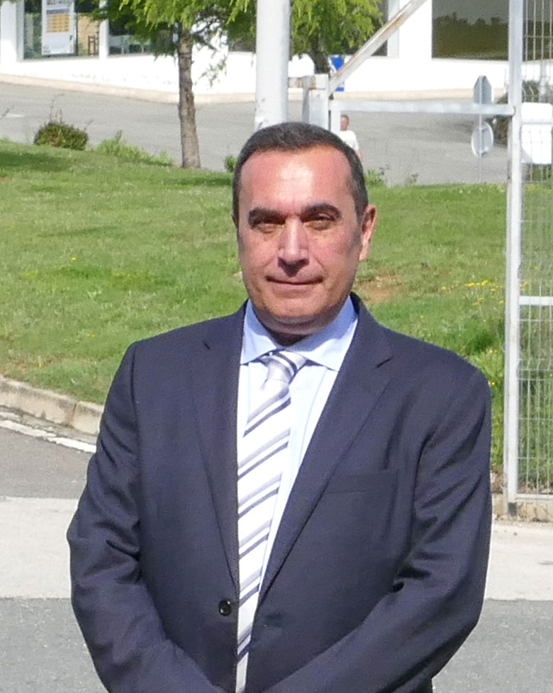 José Cruz Asarta. Gerente de los colegios diocesanos