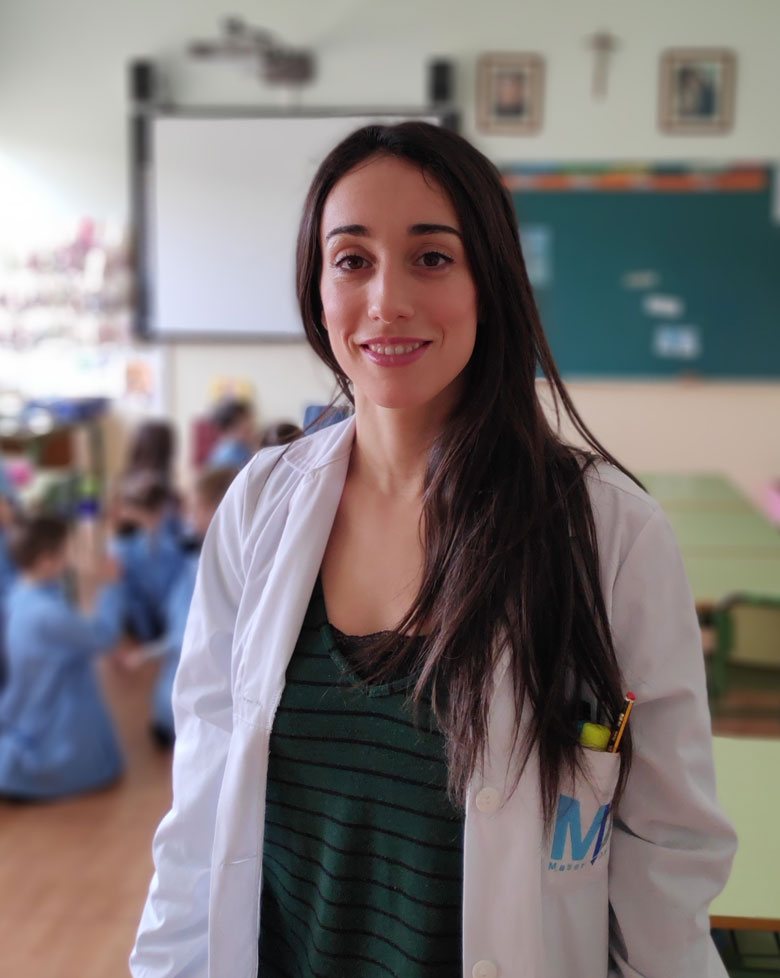 Raquel Garijo. Coordinadora de idiomas colegio Mater Dei