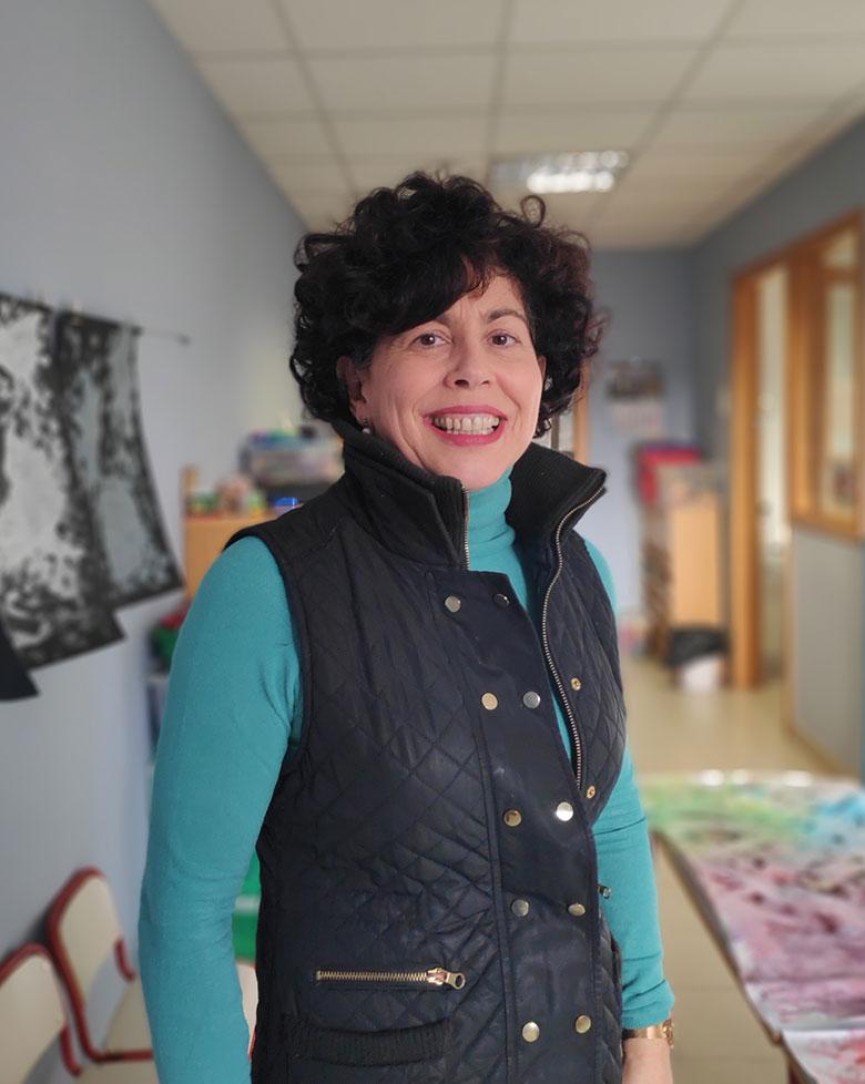 Sandra Urra. Coordinadora del clico de 0 a 3 años del Colegio Mater Dei, Ayegui - Estella